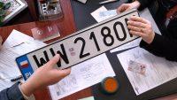 Rejestracja samochodów. Zmiana w przepisach od 1 lipca