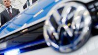 Volkswagen porażony prądem