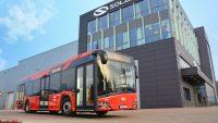 Pięć elektrycznych autobusów Solarisa trafiło do Frankfurtu nad Menem