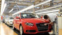 Z powodu strajku stoi produkcja w fabryce Audi na Węgrzech