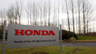 Honda zamknie fabrykę samochodów w angielskim Swindon