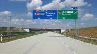 Nowe znaki na autostradach. Komputery podpowiedzą objazdy