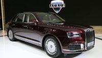 """""""Putinowska"""" marka aut aurus już w sprzedaży"""