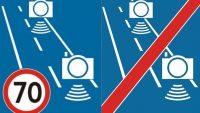 Od wtorku nowe znaki informujące o odcinkowym pomiarze prędkości