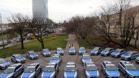 Komenda Stołeczna Policji dostała 37 nowych radiowozów