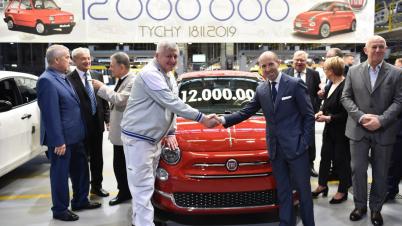 Dwunastomilionowy samochód z fabryki FCA w Tychach
