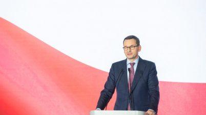 Morawiecki zapowiada pierwszeństwo dla pieszych i ograniczenie prędkości