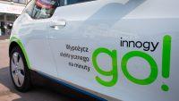 """Wypożyczalnia """"elektryków"""" InnogyGo zniknie? Firma szuka inwestora"""