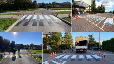 Trójwymiarowe przejścia dla pieszych powstają w polskich miastach