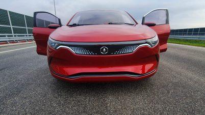 Izera - polskie auto elektryczne po pierwszej jeździe
