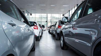 Znów spadła liczba rejestracji aut