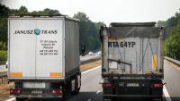 Nie będzie zakazu wyprzedzania przez ciężarówki. Ministerstwo odmawia
