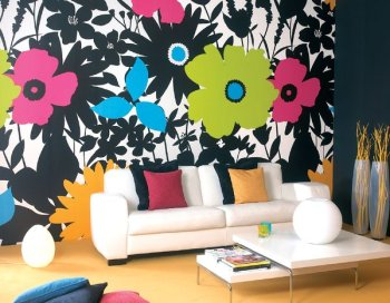 Wn trze w dobrym tonie Wallpaper and paint ideas living room