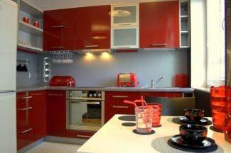 Kuchnia Black Red White W Dekoratorni Bankier Pl