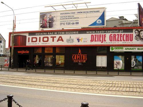 Modernizacja Wrocławskiego Teatru Muzycznego Capitol Bankierpl