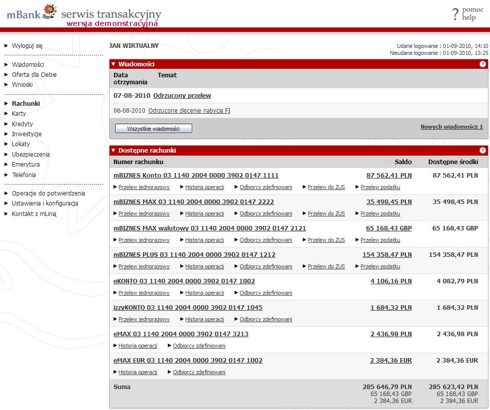 Recenzja Ekonto I Mbank Pod Lupa Bankier Pl