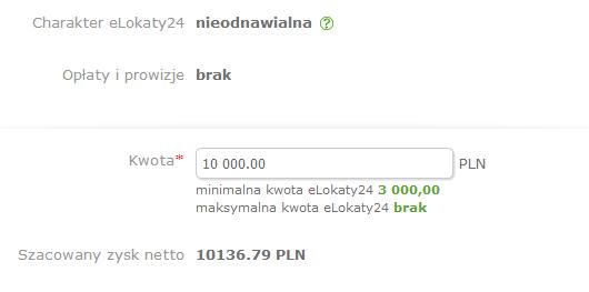 Zysk z lokaty SK Banku